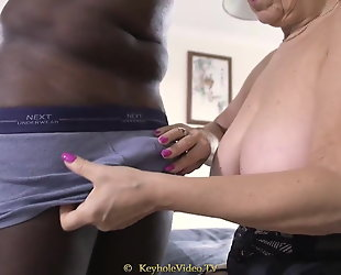 busty granny with a tight pussy